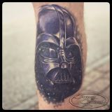 2018 • Tattoo Wade Cover Up • Darth Vader abgeheilt