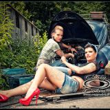 Fotoshooting-M&N Bodypainting-engine check-©Crazy Colors2012
