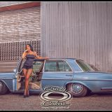 Fotoshooting-Model Marina -open door - Mercedes Sven back-©Crazy Colors2013