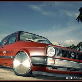 Golf 2 von Simon- Low Force Pinstripings