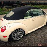 New Beetle Cabrio Andreas - Lettering und Pinstriping